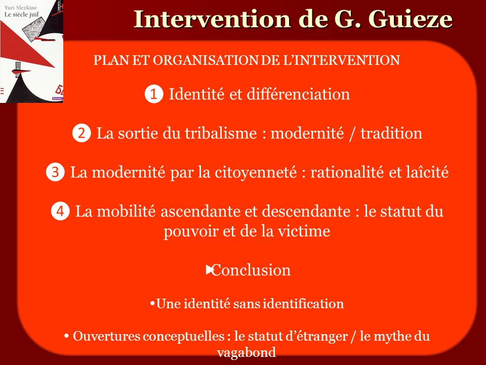 Intervention de G. Guieze
