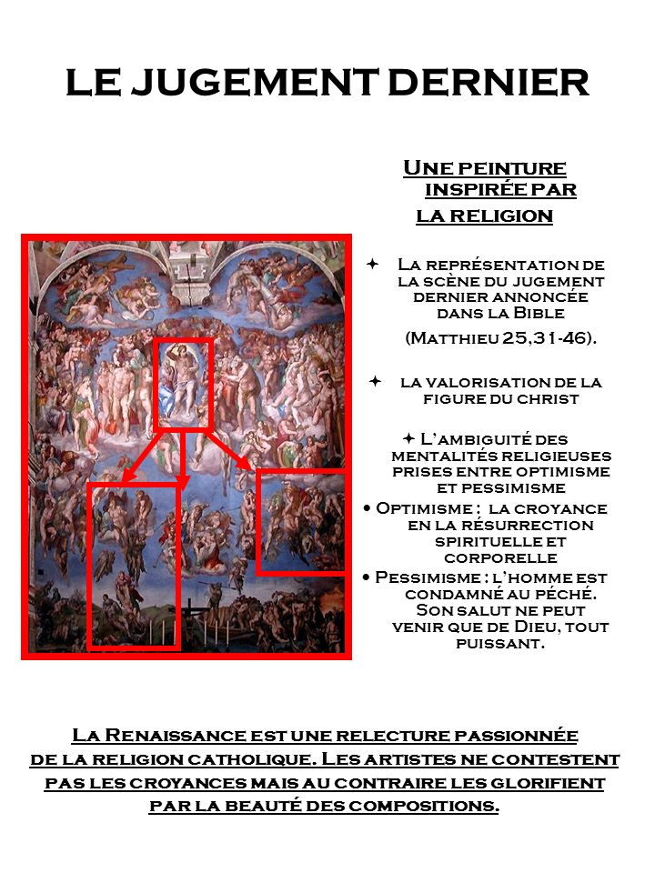 Une peinture inspirée par La Renaissance est une relecture passionnée