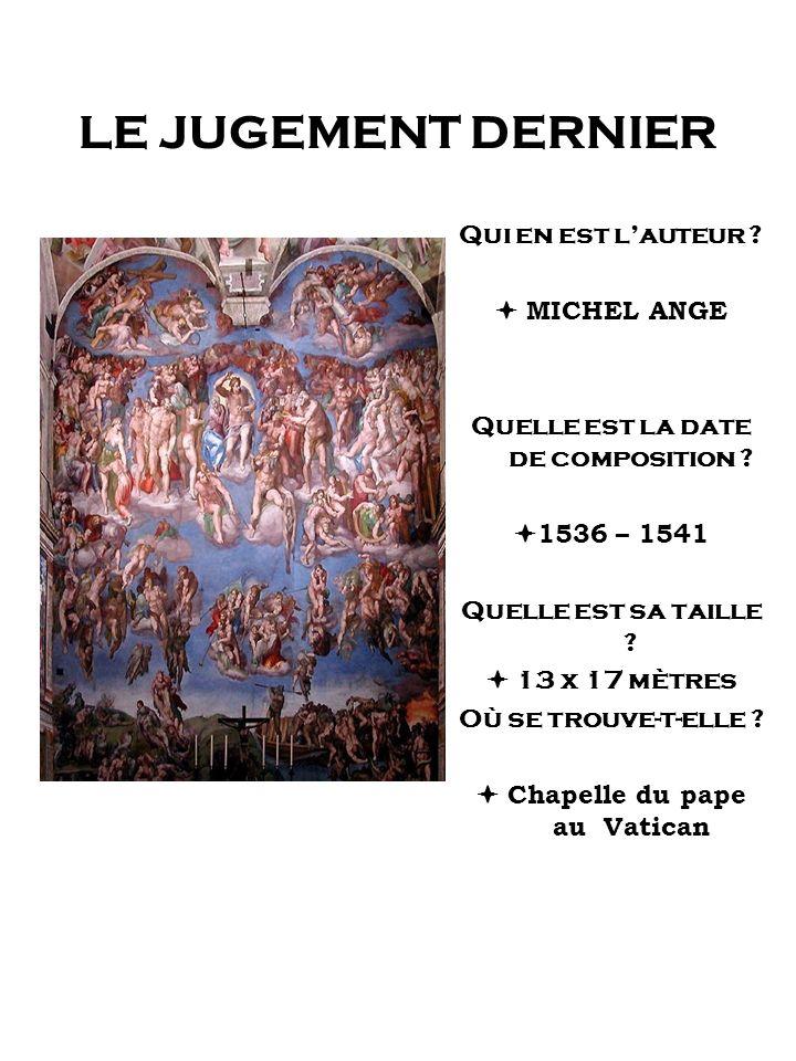 Quelle est la date de composition  Chapelle du pape au Vatican