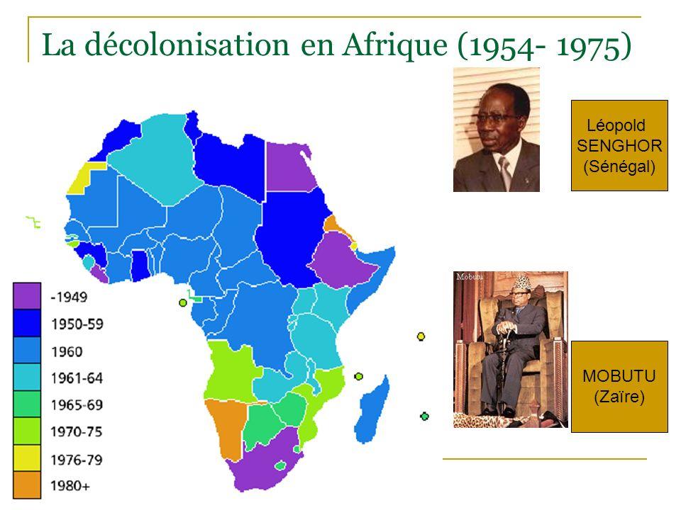 La décolonisation en Afrique (1954- 1975)