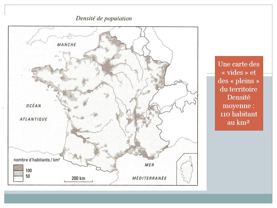 Une carte des « vides » et des « pleins » du territoire