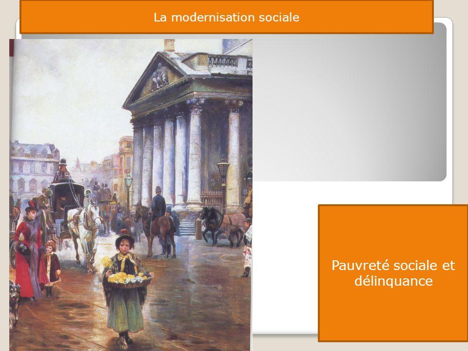 Pauvreté sociale et délinquance