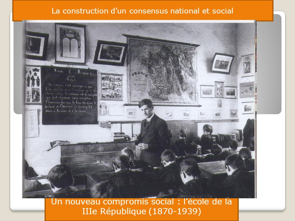 La construction d'un consensus national et social