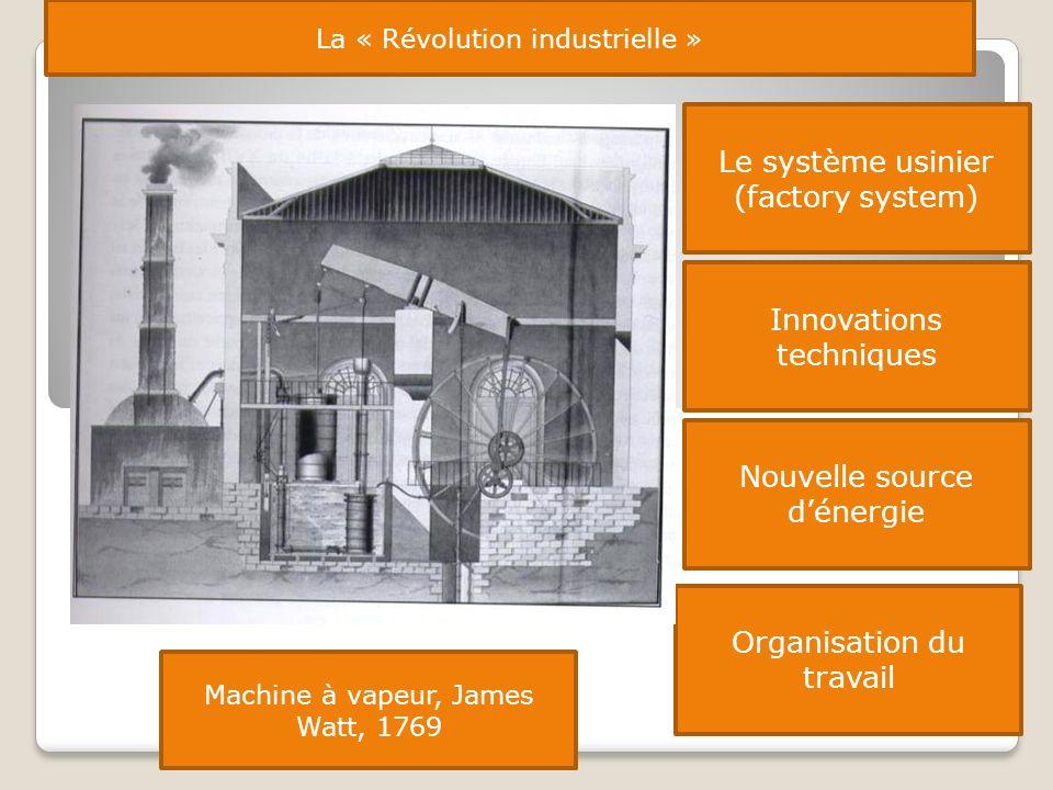 Le système usinier (factory system)