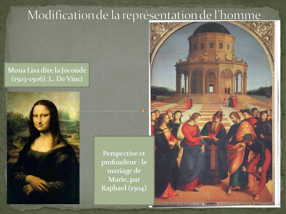 Modification de la représentation de l'homme