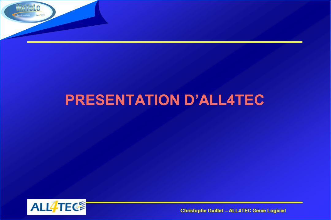 PRESENTATION D'ALL4TEC