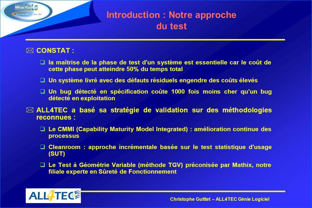 Introduction : Notre approche du test