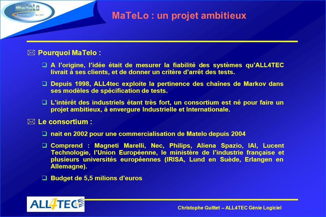 MaTeLo : un projet ambitieux