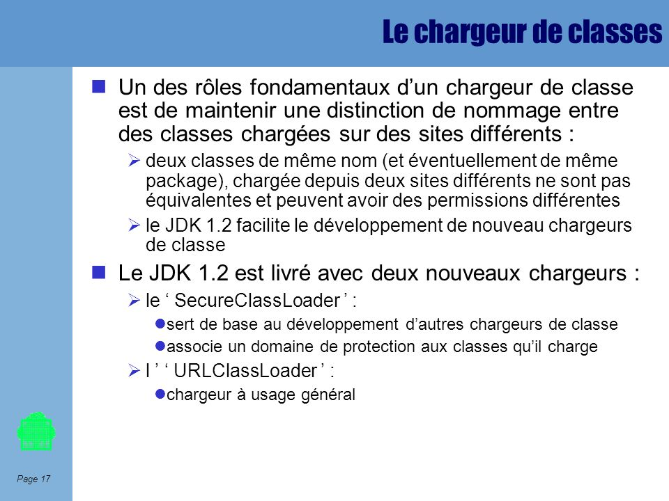 Le chargeur de classes