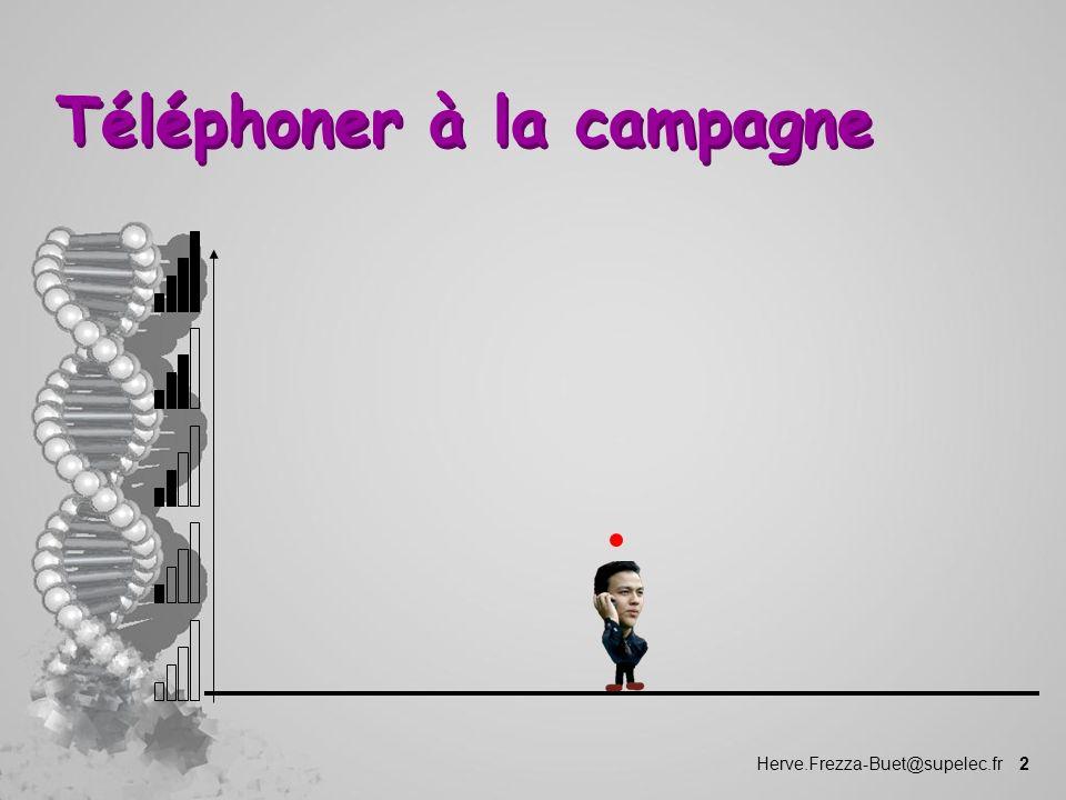 Téléphoner à la campagne