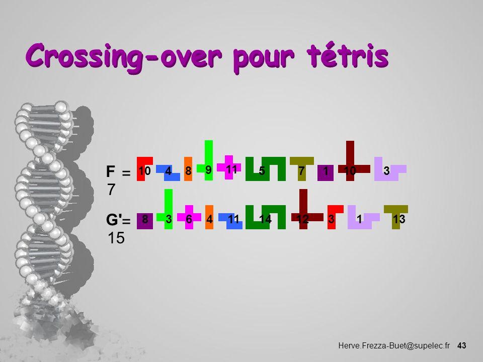 Crossing-over pour tétris