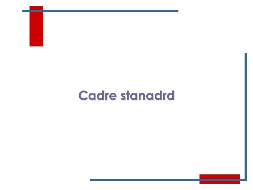 Cadre stanadrd