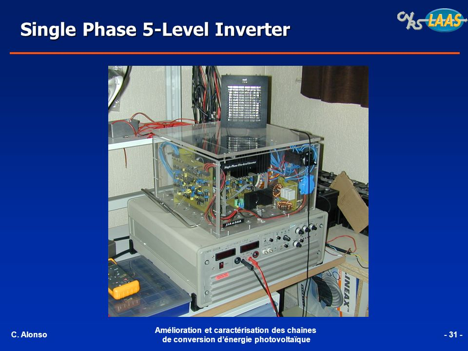 Single Phase 5-Level Inverter