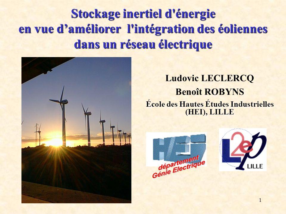 Stockage inertiel d énergie