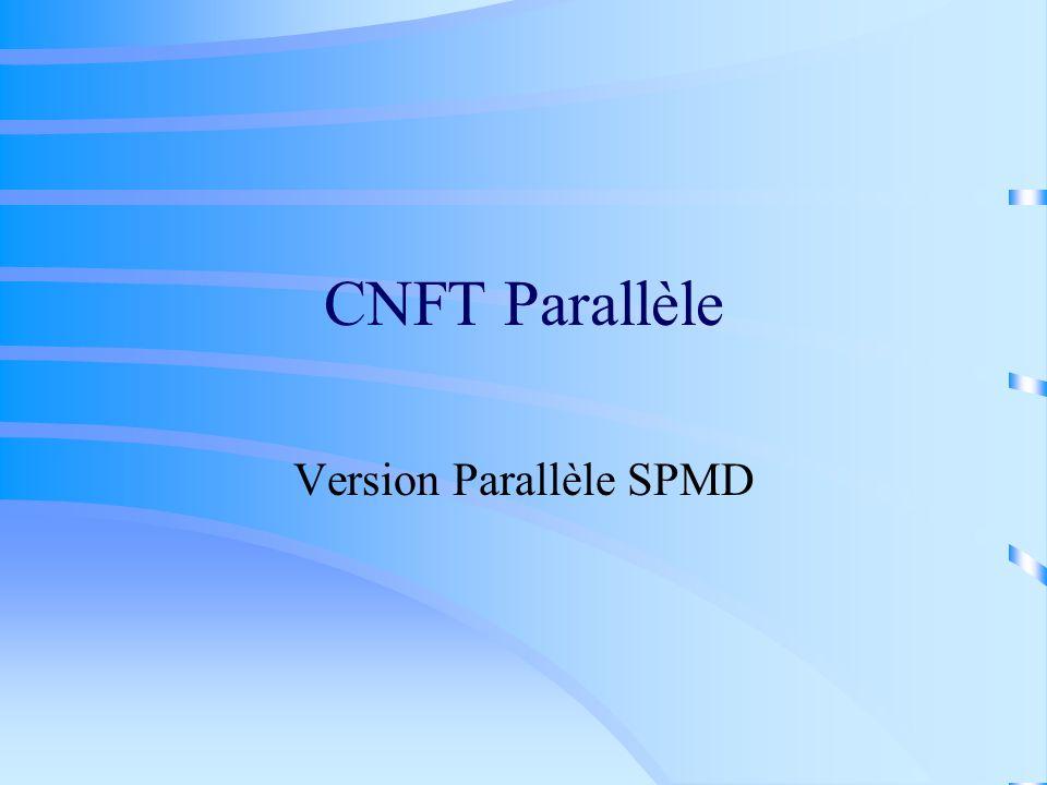Version Parallèle SPMD