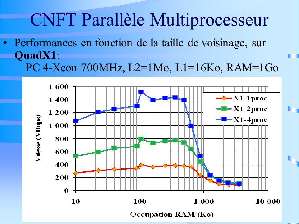CNFT Parallèle Multiprocesseur