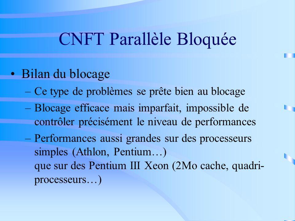 CNFT Parallèle Bloquée