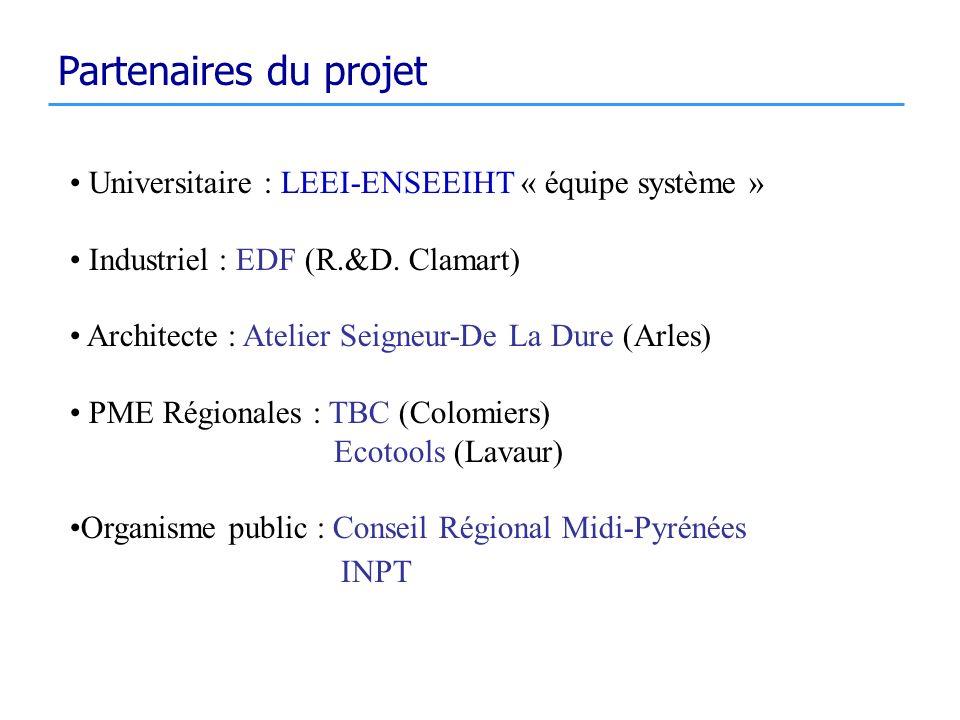 Partenaires du projet INPT