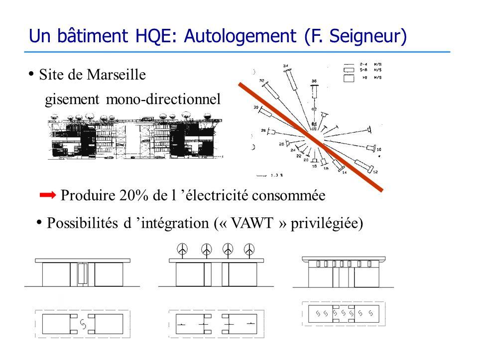 Un bâtiment HQE: Autologement (F. Seigneur)