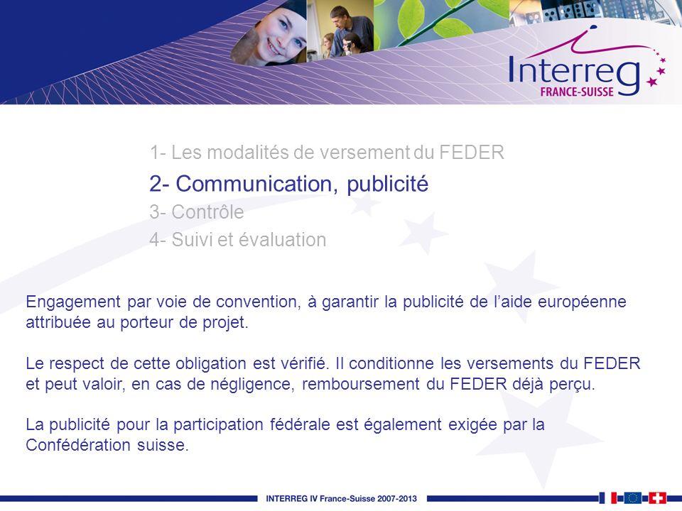 2- Communication, publicité