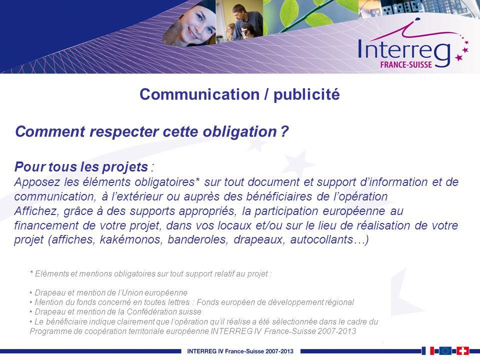 Communication / publicité