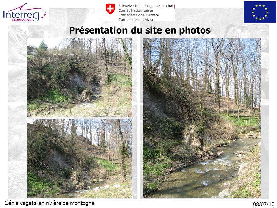 Présentation du site en photos