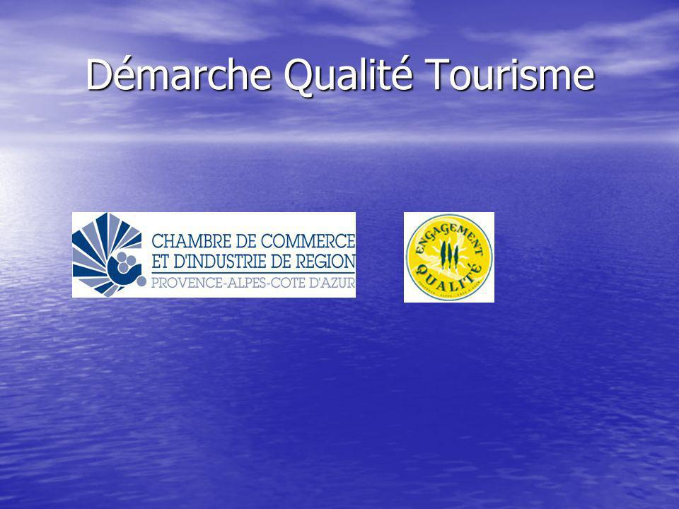 Démarche Qualité Tourisme