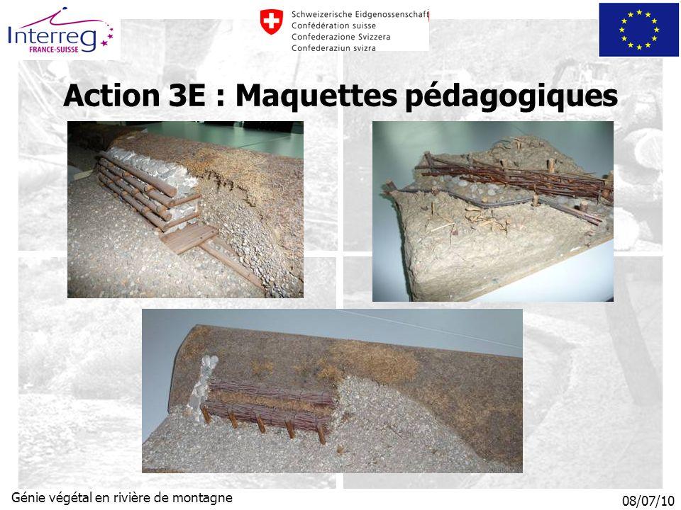 Action 3E : Maquettes pédagogiques