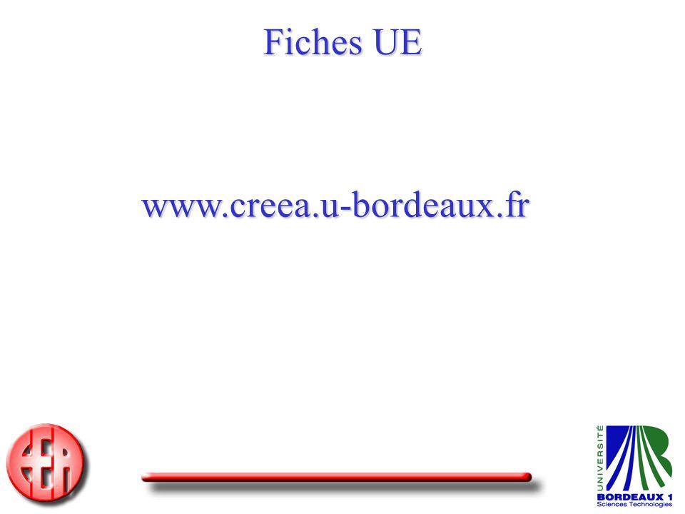 Fiches UE www.creea.u-bordeaux.fr