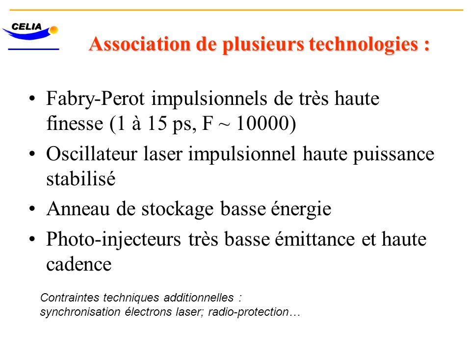 Association de plusieurs technologies :