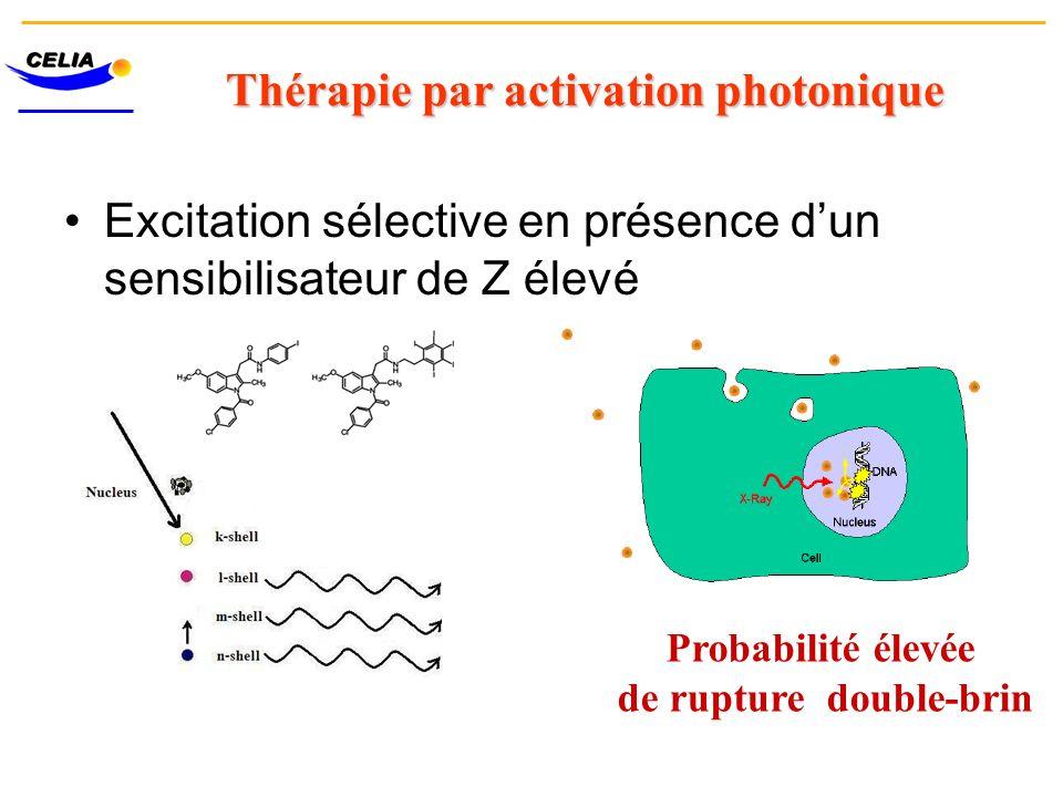 Thérapie par activation photonique