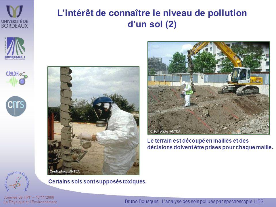 L'intérêt de connaître le niveau de pollution d'un sol (2)