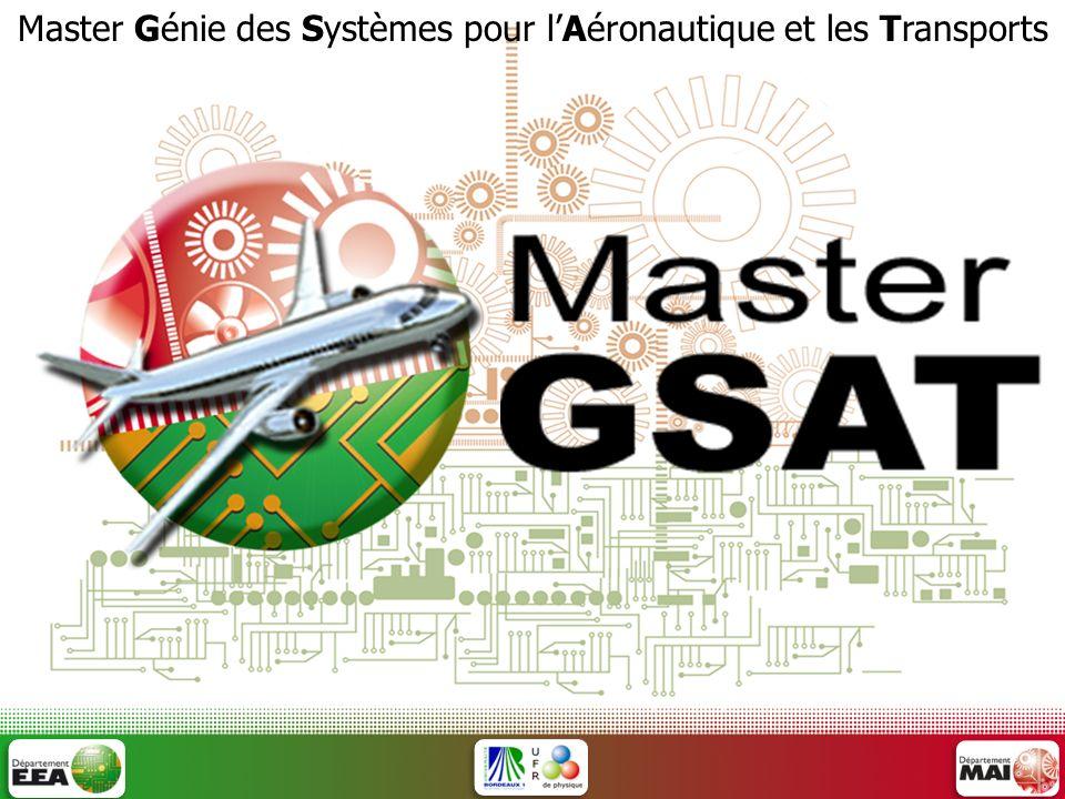 Master Génie des Systèmes pour l'Aéronautique et les Transports