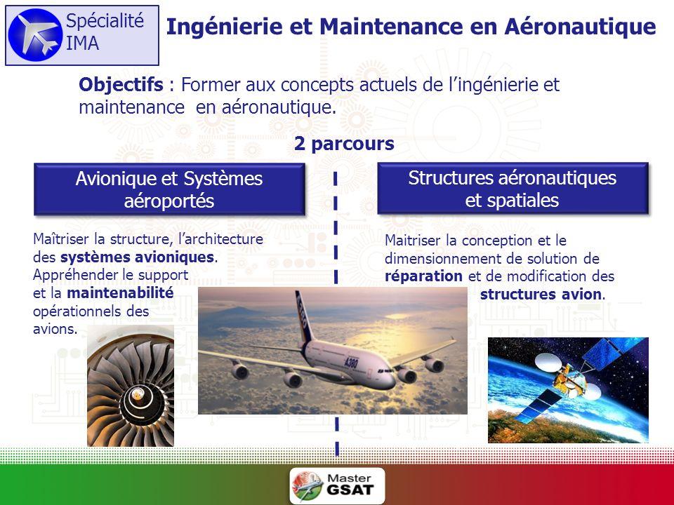 Ingénierie et Maintenance en Aéronautique