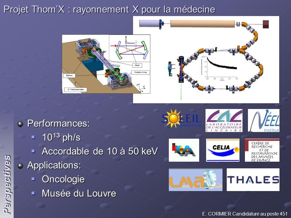 Projet Thom'X : rayonnement X pour la médecine