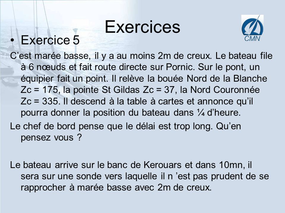 ExercicesExercice 5.