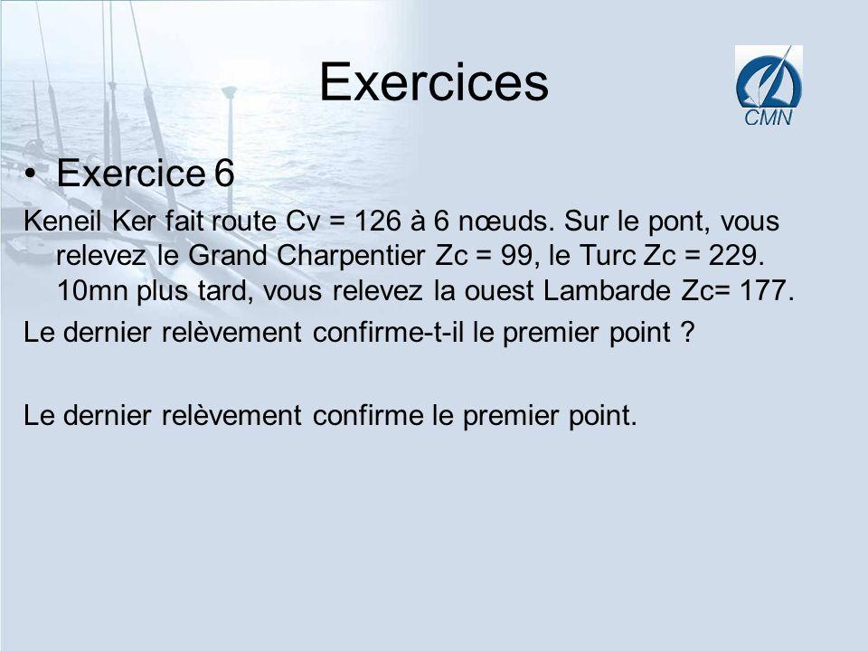 Exercices Exercice 6.