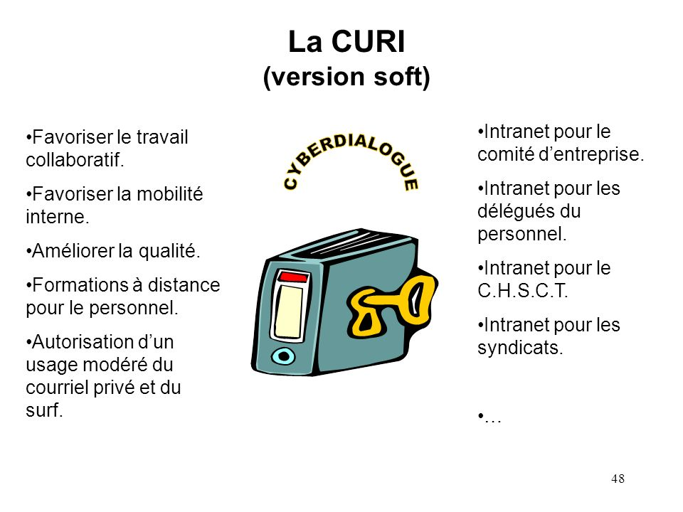 La CURI (version soft) CYBERDIALOGUE