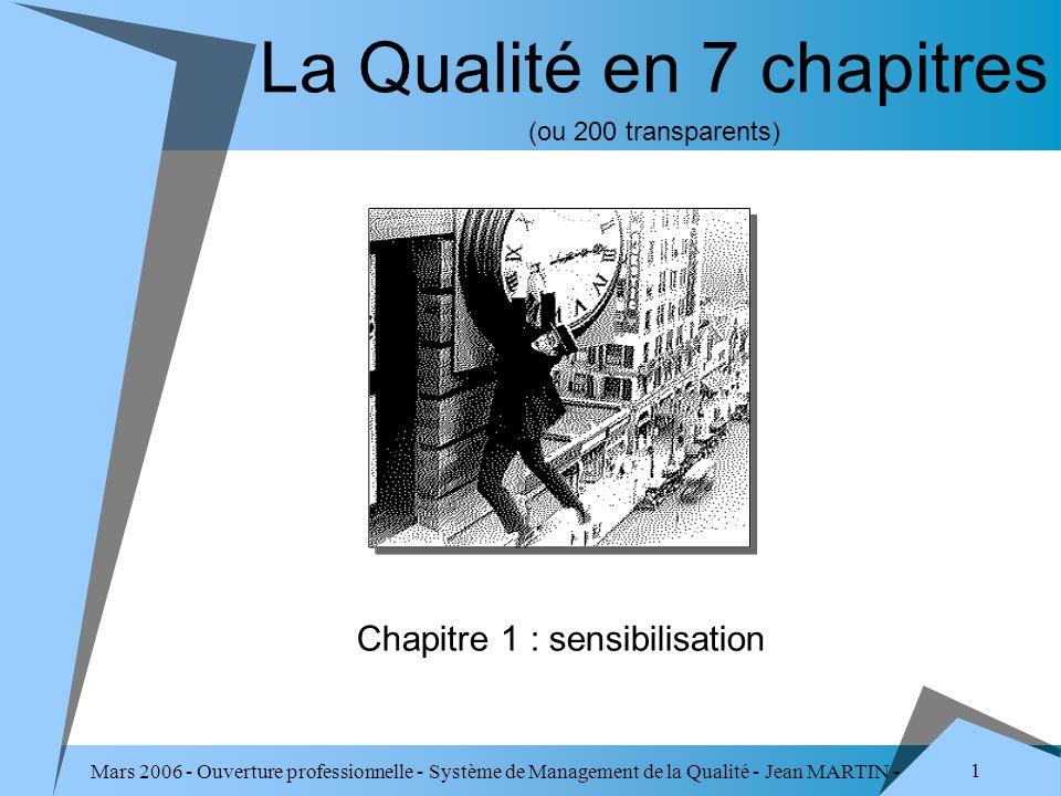 La Qualité en 7 chapitres