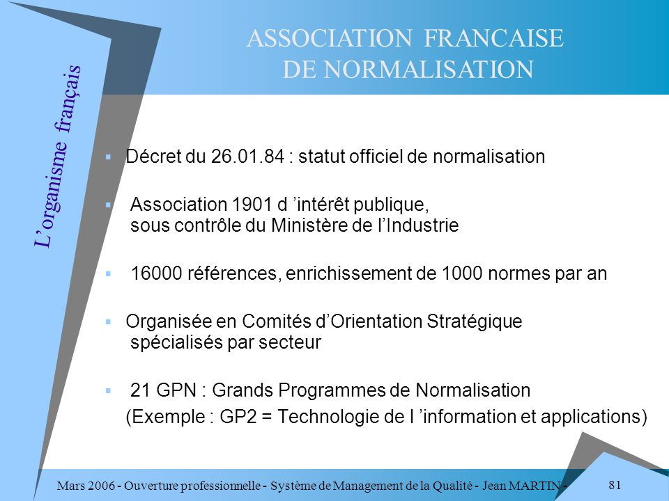 ASSOCIATION FRANCAISE