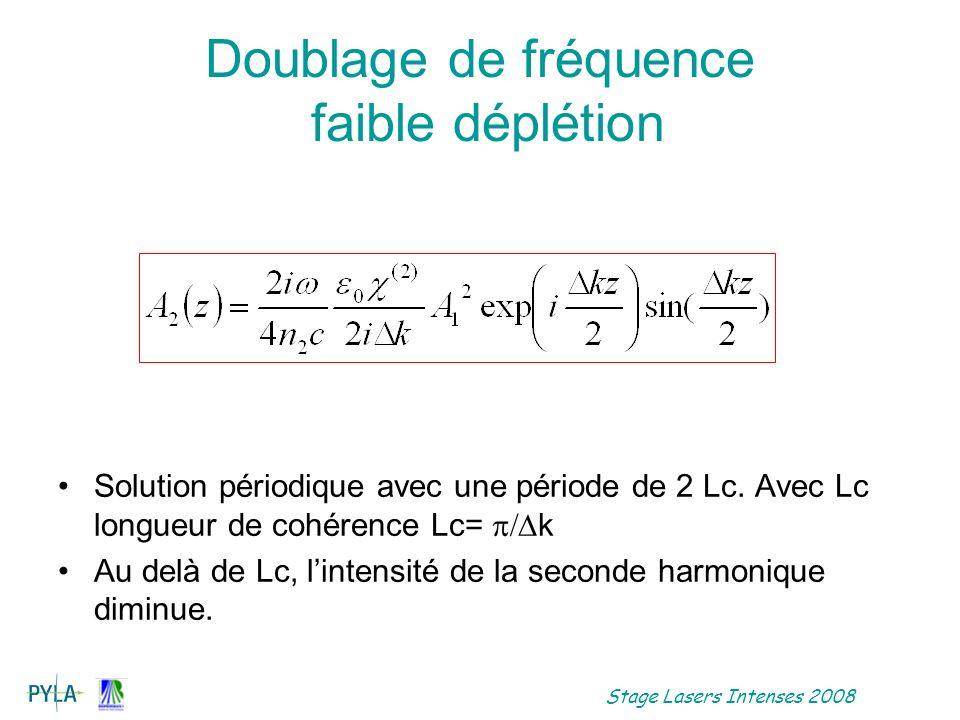 Doublage de fréquence faible déplétion