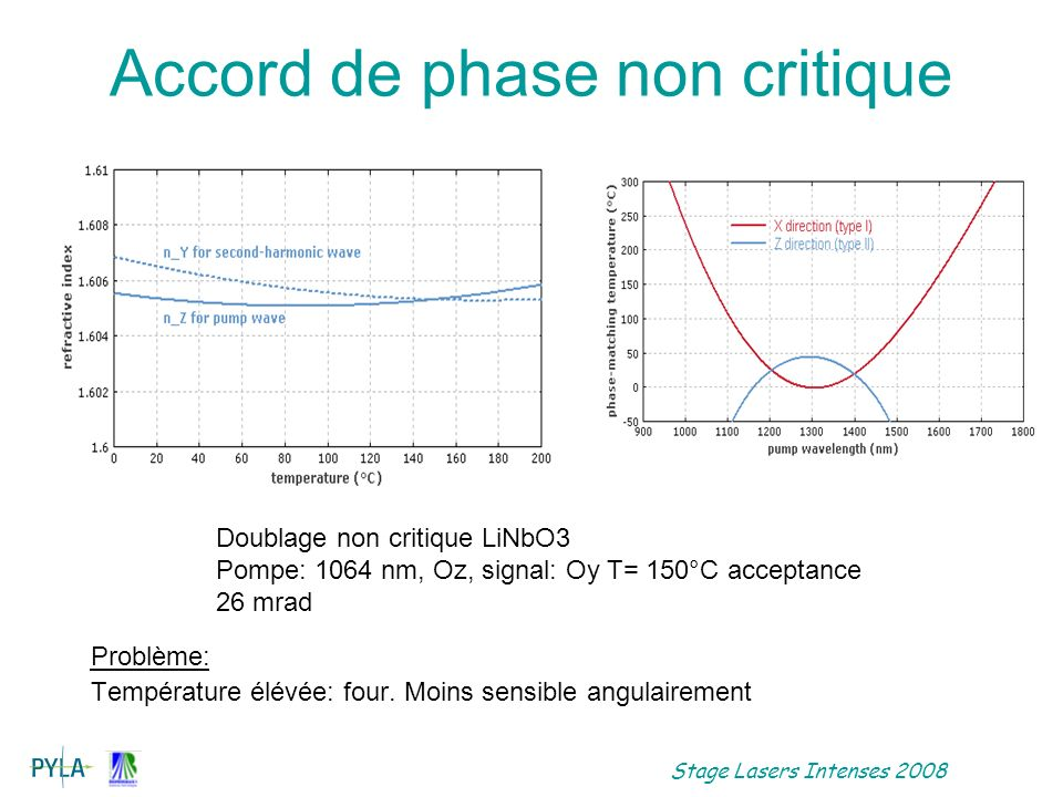 Accord de phase non critique
