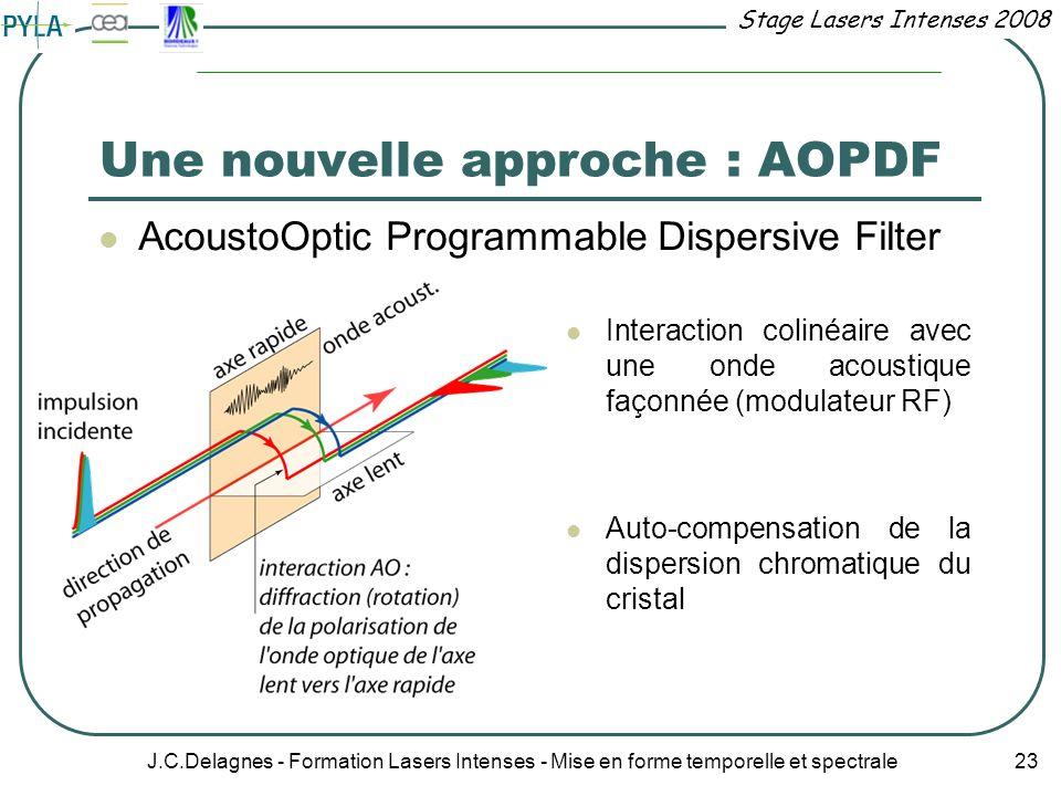 Une nouvelle approche : AOPDF