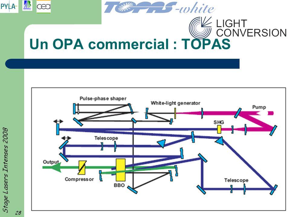 Un OPA commercial : TOPAS