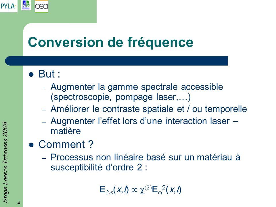 Conversion de fréquence