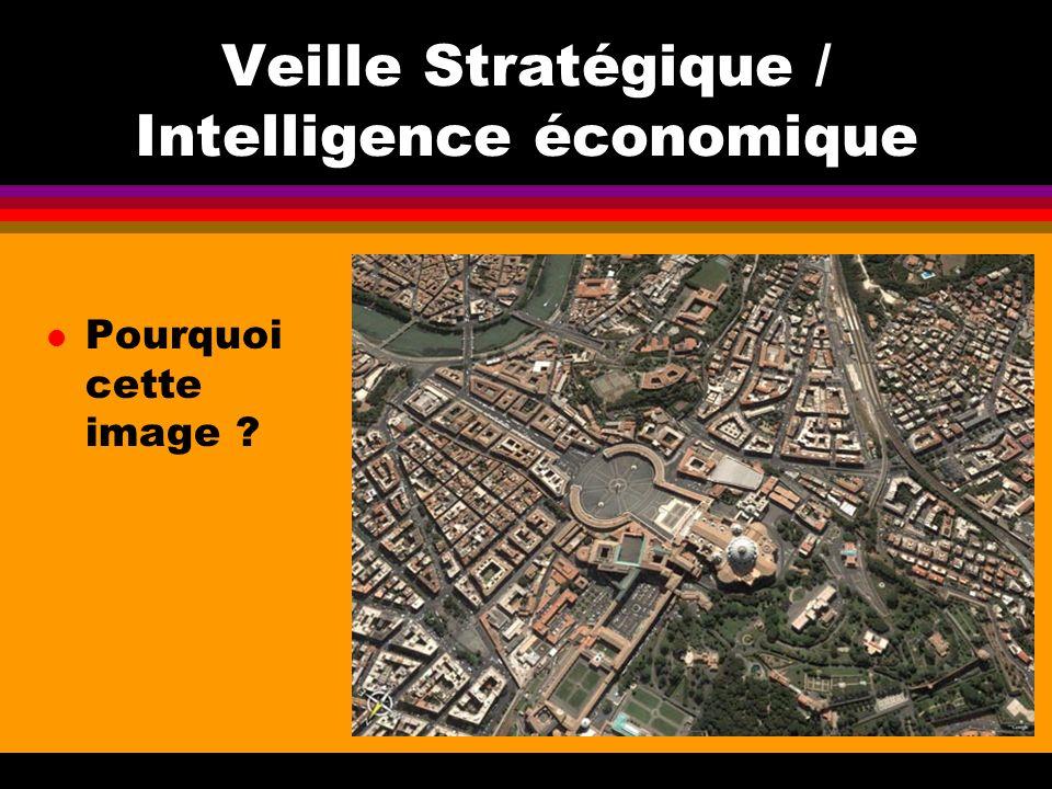 Veille Stratégique / Intelligence économique