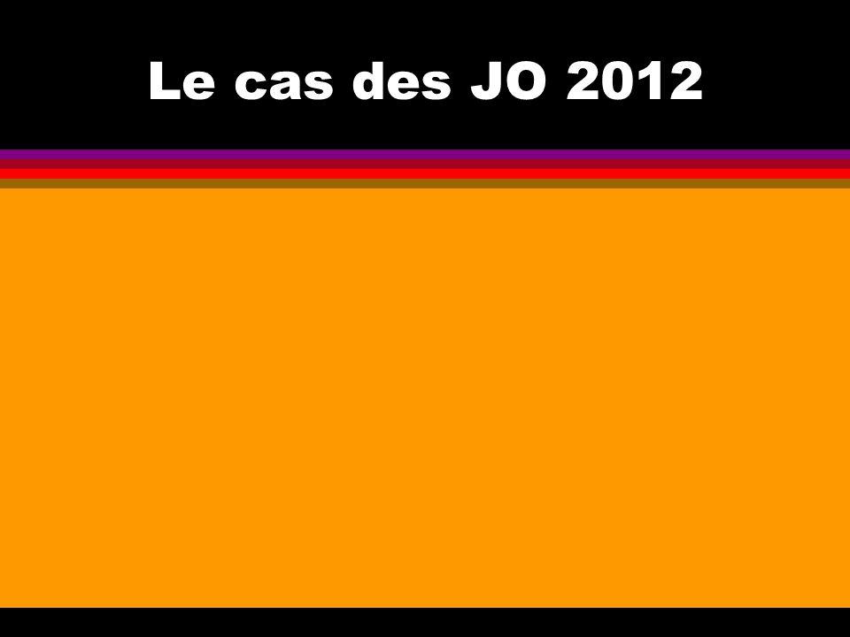 Le cas des JO 2012