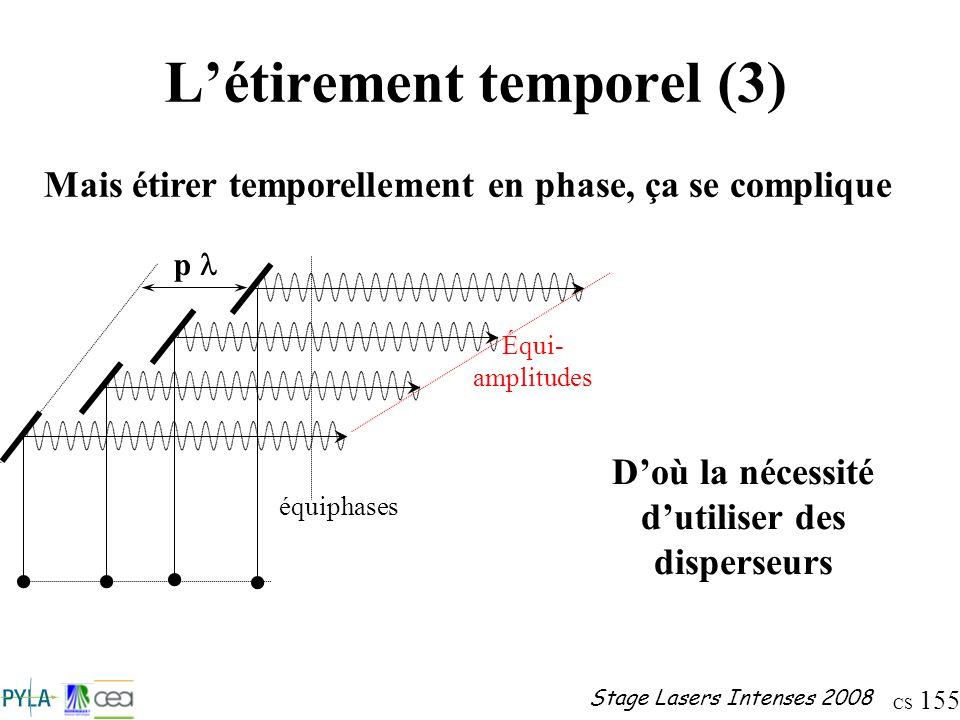 L'étirement temporel (3)