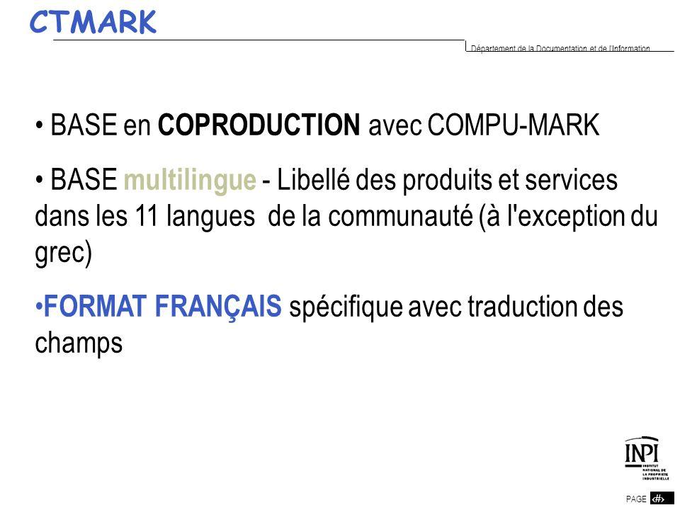 CTMARKBASE en COPRODUCTION avec COMPU-MARK.
