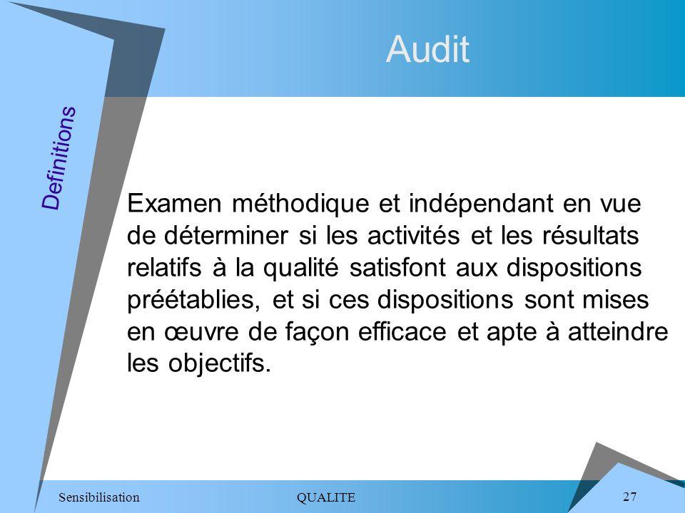 Audit Definitions.